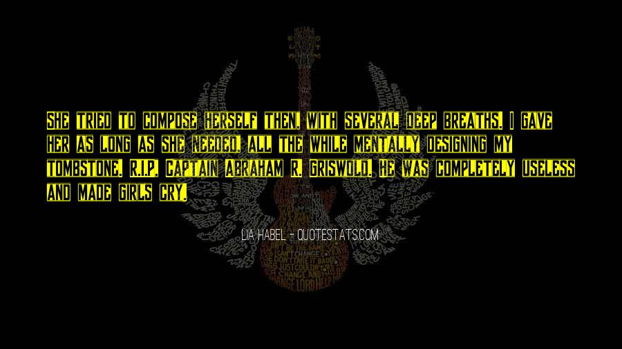 Quotes About Habel #1092396