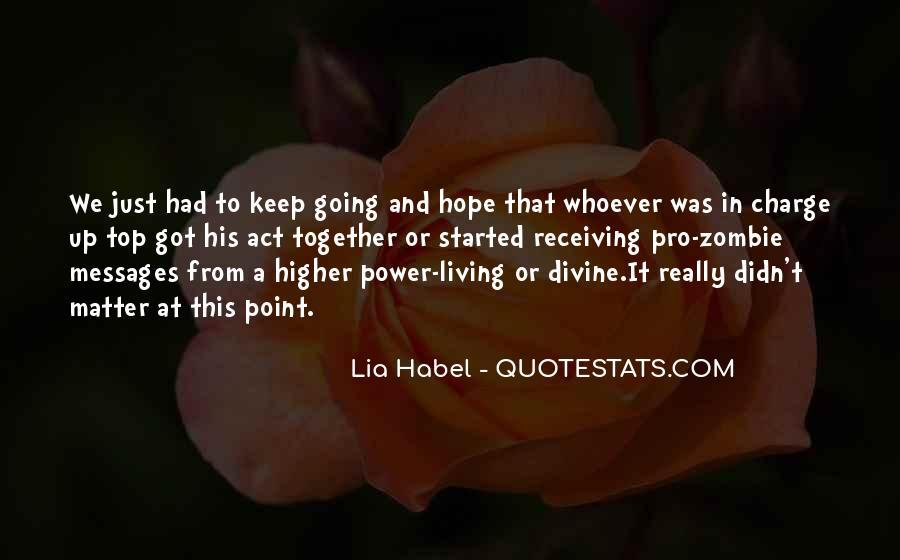Quotes About Habel #1244393