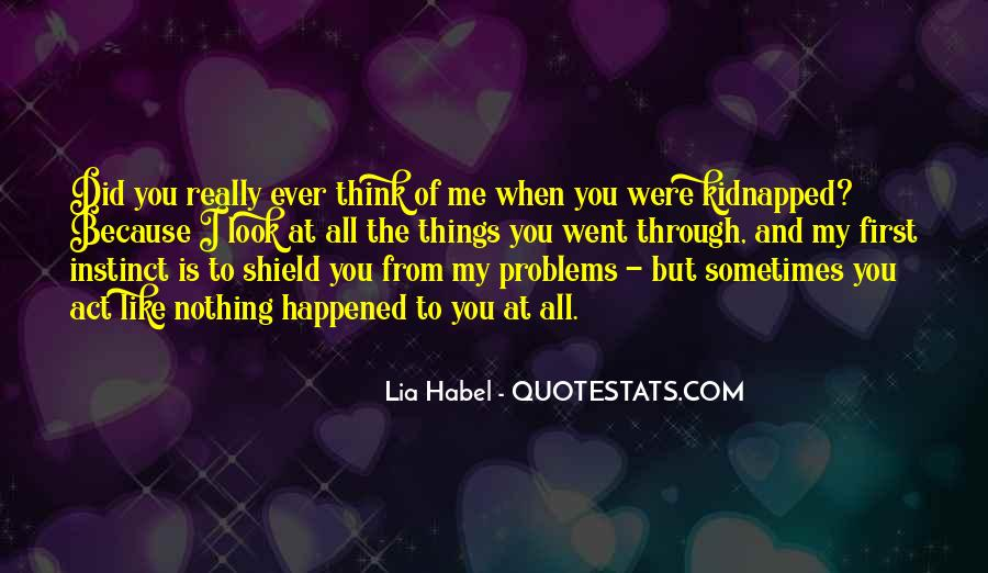 Quotes About Habel #1688308