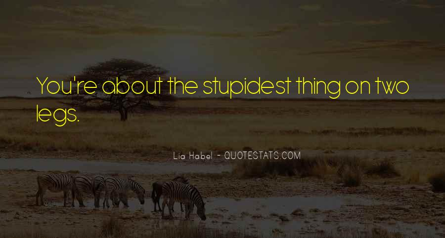 Quotes About Habel #258518