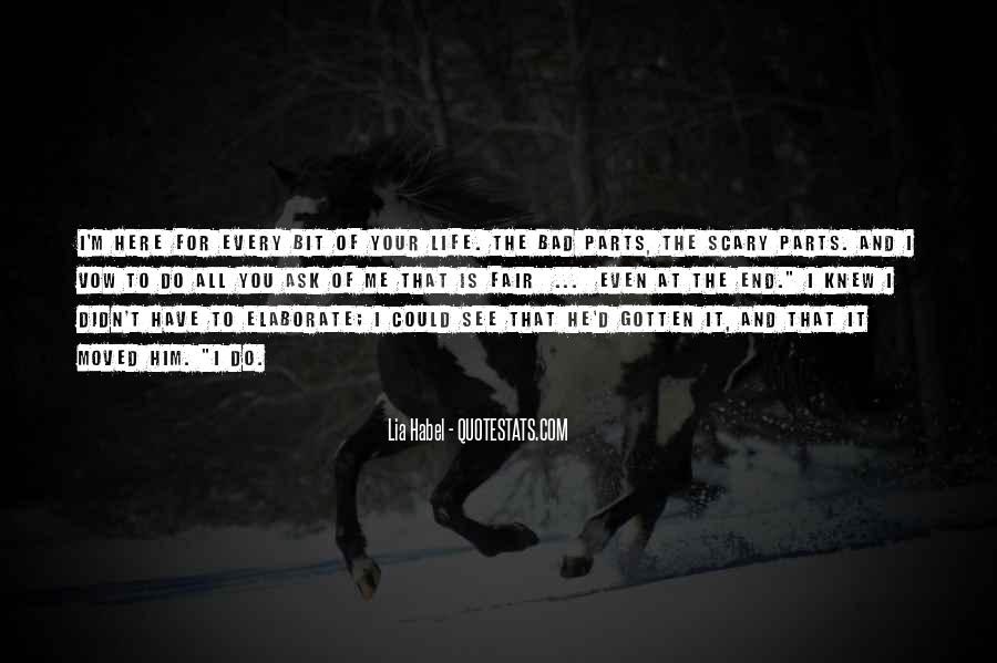 Quotes About Habel #298577