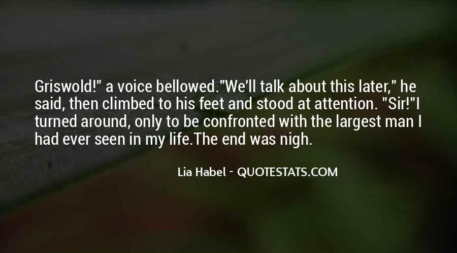 Quotes About Habel #402205