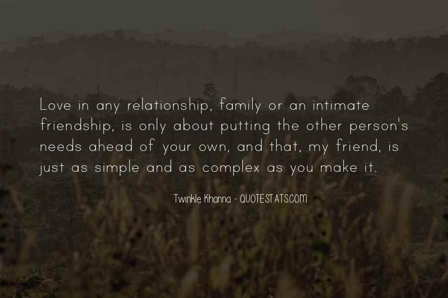 Friend And Family Love Quotes #1749414