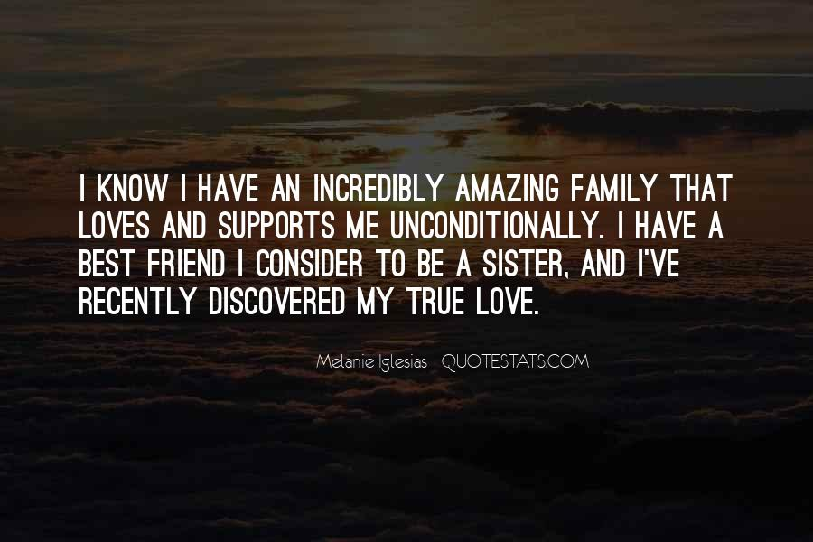 Friend And Family Love Quotes #448812