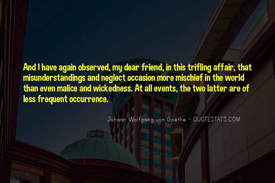 Friend Neglect Quotes #1844878