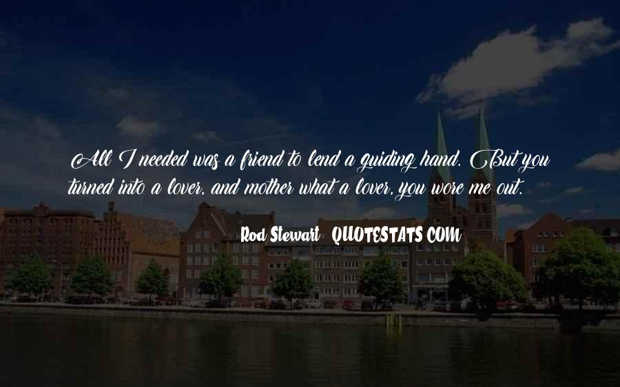 Friend Then Lover Quotes #110335