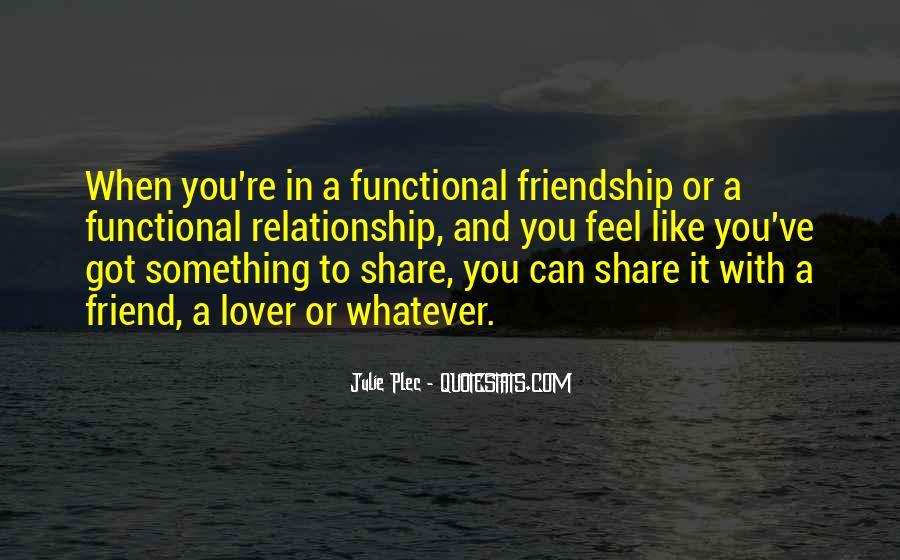 Friend Then Lover Quotes #358910