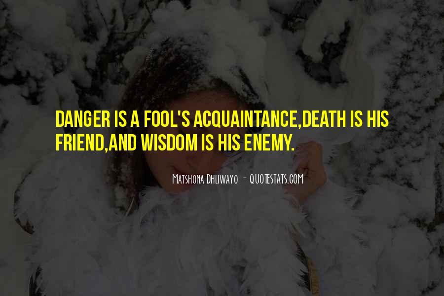 Friend Vs Acquaintance Quotes #1427461