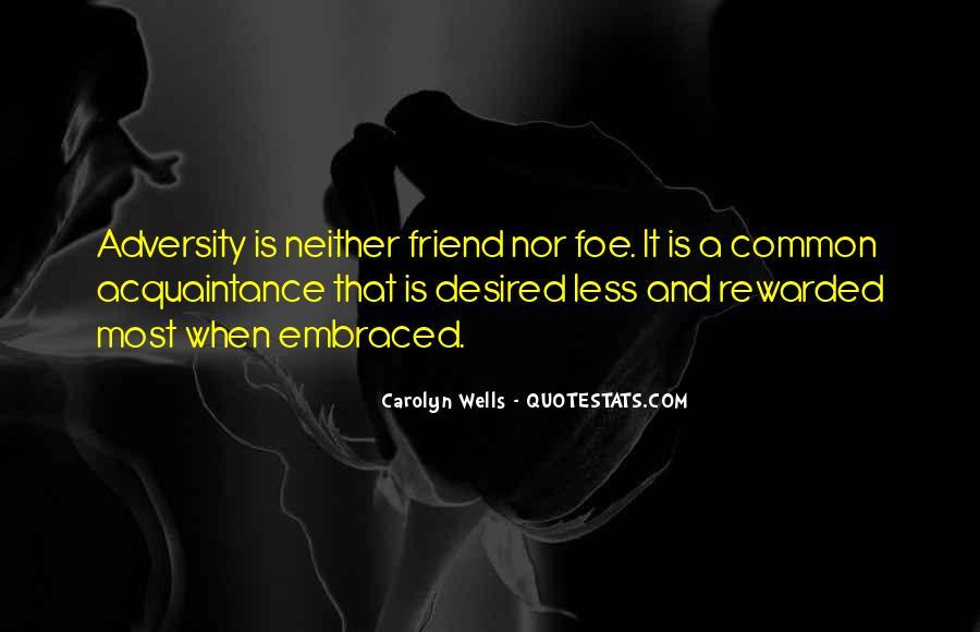 Friend Vs Acquaintance Quotes #1584629