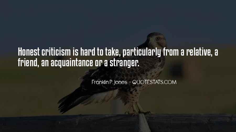 Friend Vs Acquaintance Quotes #1633648