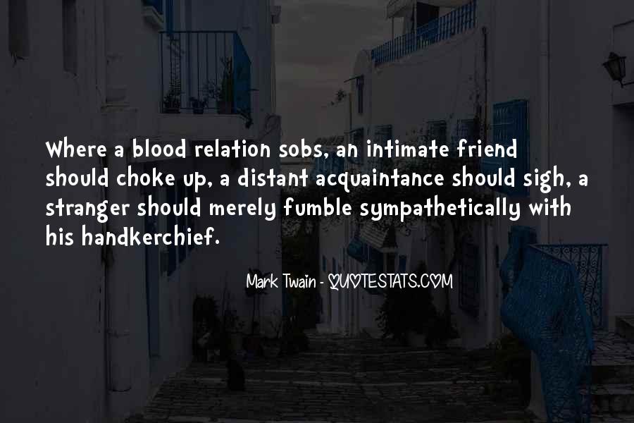 Friend Vs Acquaintance Quotes #1692128