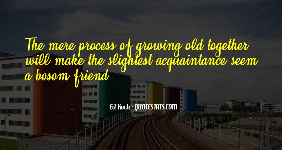 Friend Vs Acquaintance Quotes #1775885
