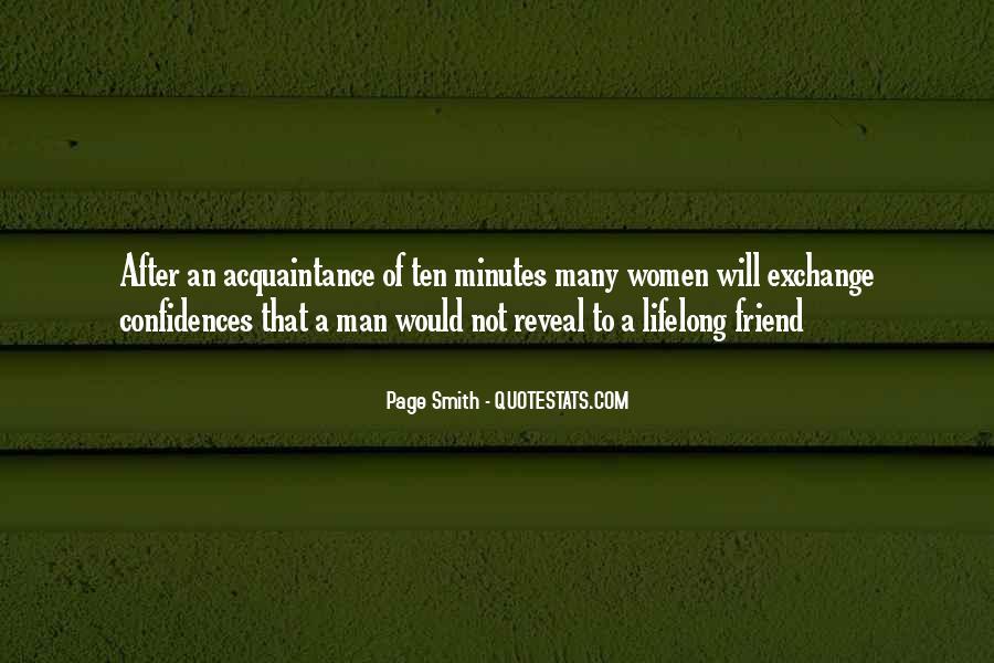 Friend Vs Acquaintance Quotes #1798882