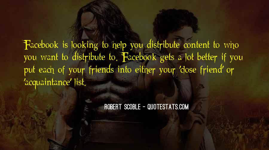 Friend Vs Acquaintance Quotes #206545