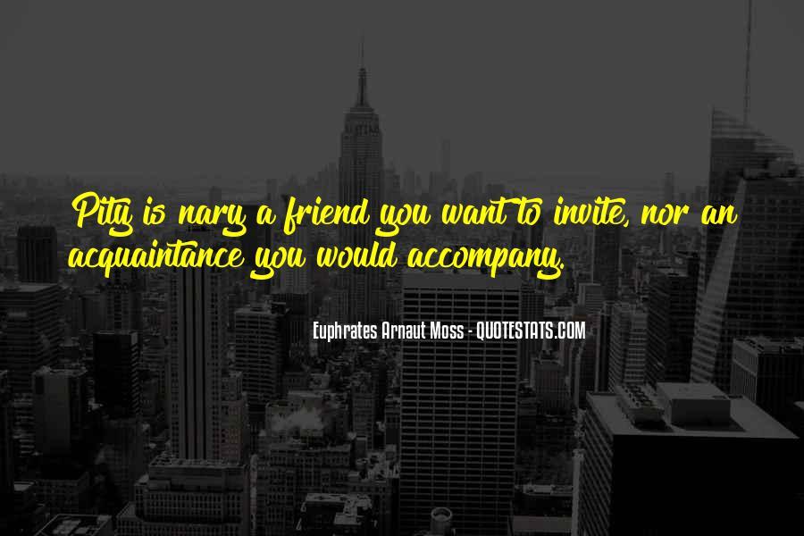 Friend Vs Acquaintance Quotes #564213