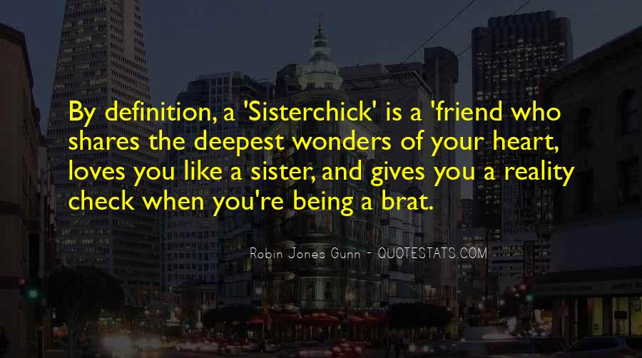 Friend Who Is Like A Sister Quotes #1142627