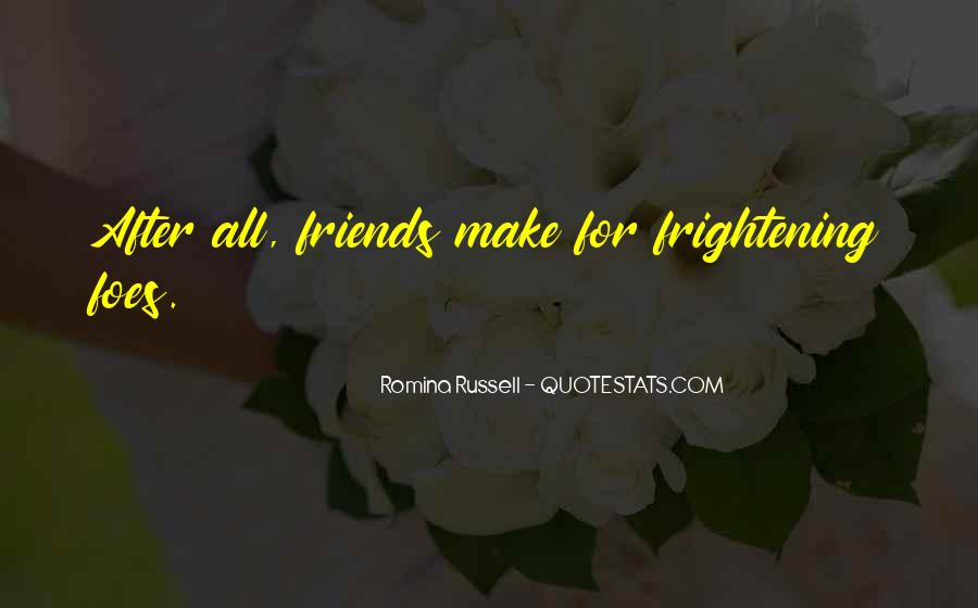 Friends After All Quotes #1434556