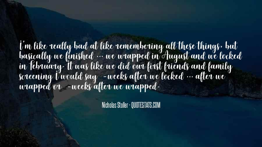 Friends After All Quotes #1767431