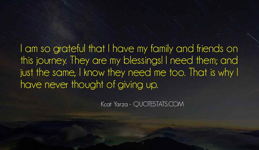 Friends And Family Life Quotes #396750