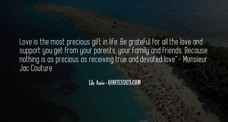 Friends And Family Life Quotes #550703