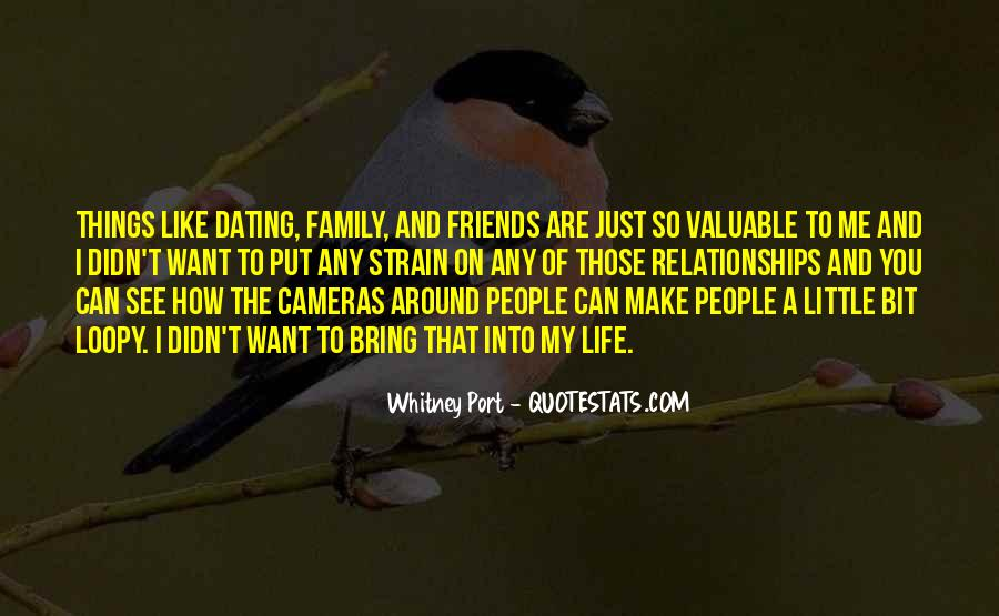 Friends And Family Life Quotes #65764