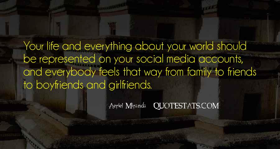 Friends And Family Life Quotes #695460