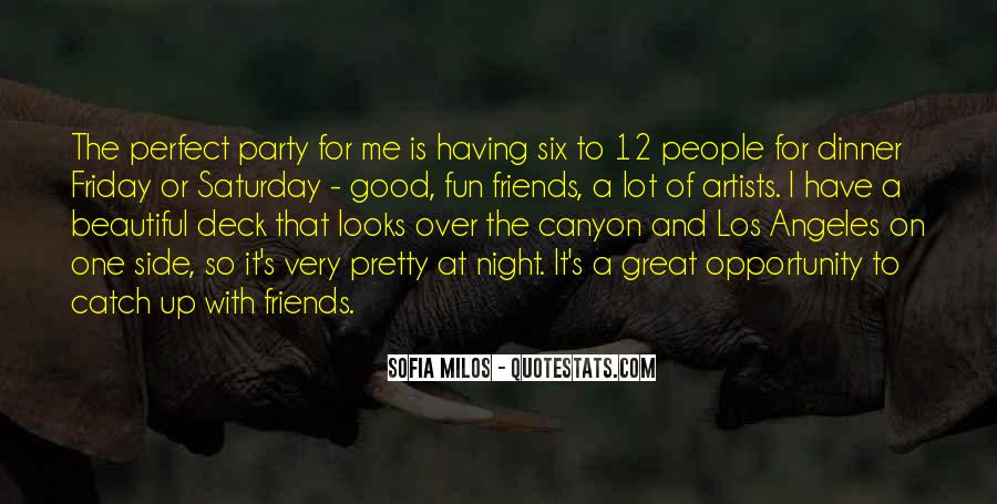 Friends And Having Fun Quotes #349429