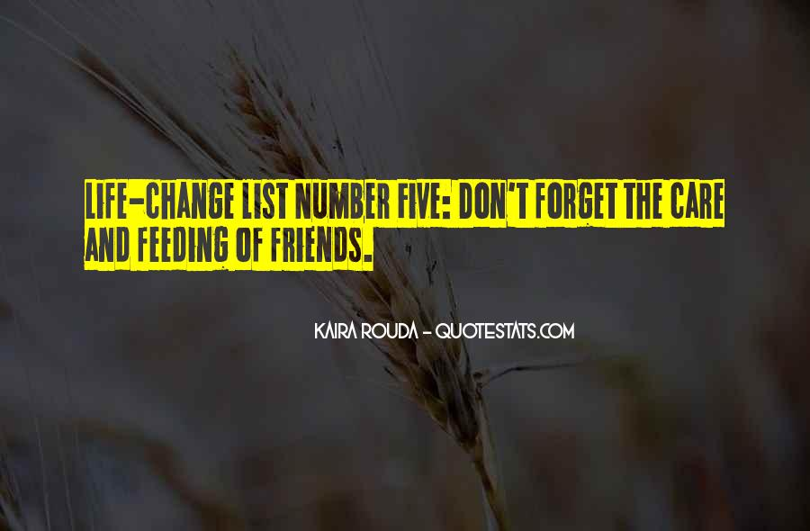 Friends The List Quotes #750885