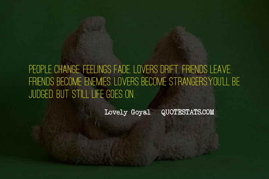 Friends Will Change Quotes #90817