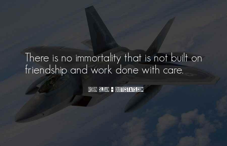 Friendship Built Quotes #1478368