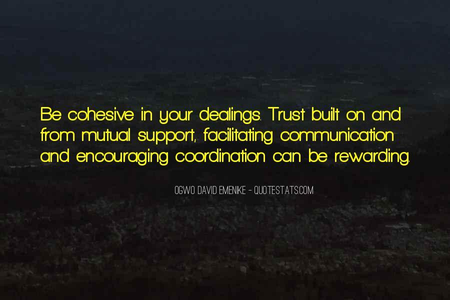 Friendship Built Quotes #153421