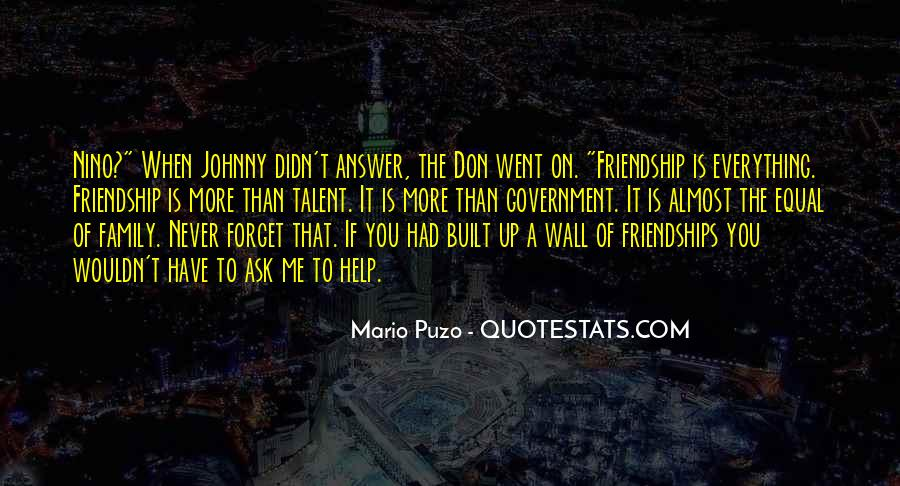 Friendship Built Quotes #185157