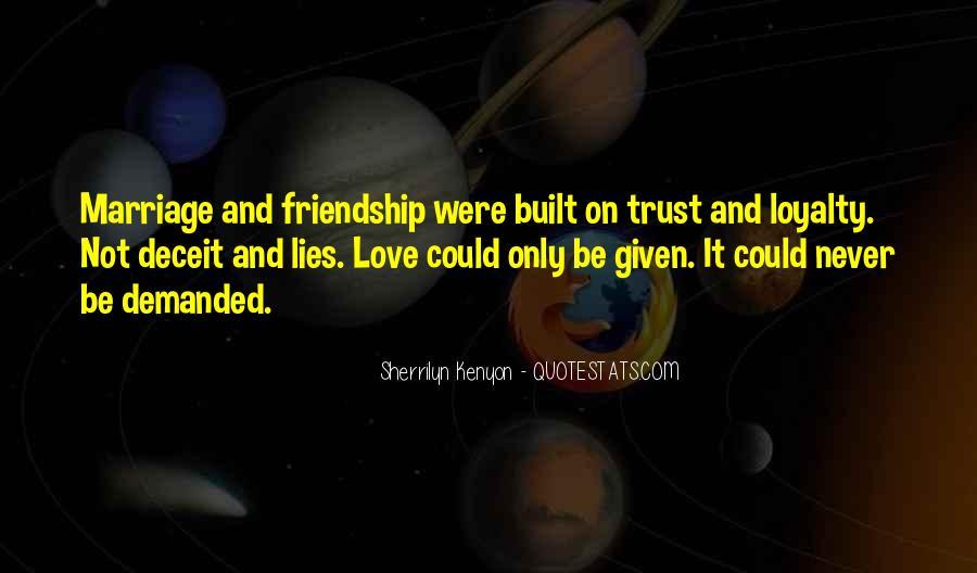 Friendship Built Quotes #211571