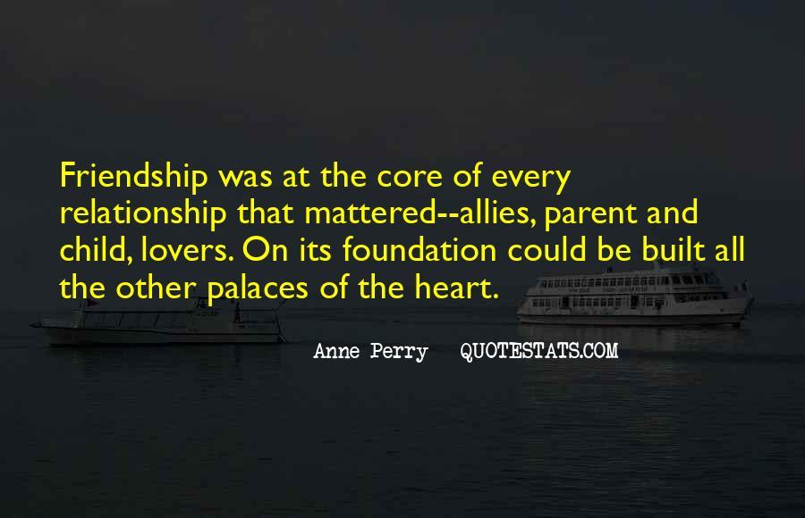 Friendship Built Quotes #954191