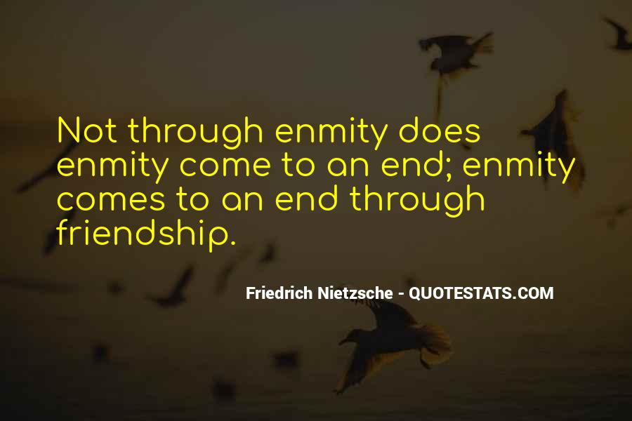 Friendship Come To End Quotes #144234
