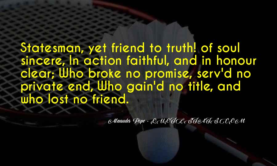 Friendship Come To End Quotes #303630