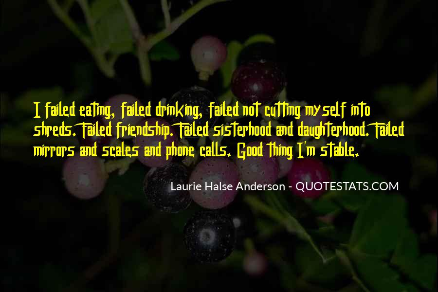 Friendship Failed Quotes #1430337