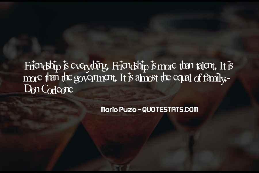 Friendship Is Everything Quotes #476380
