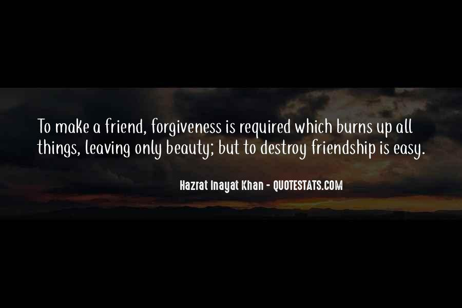Friendship Is Not Easy Quotes #1423383