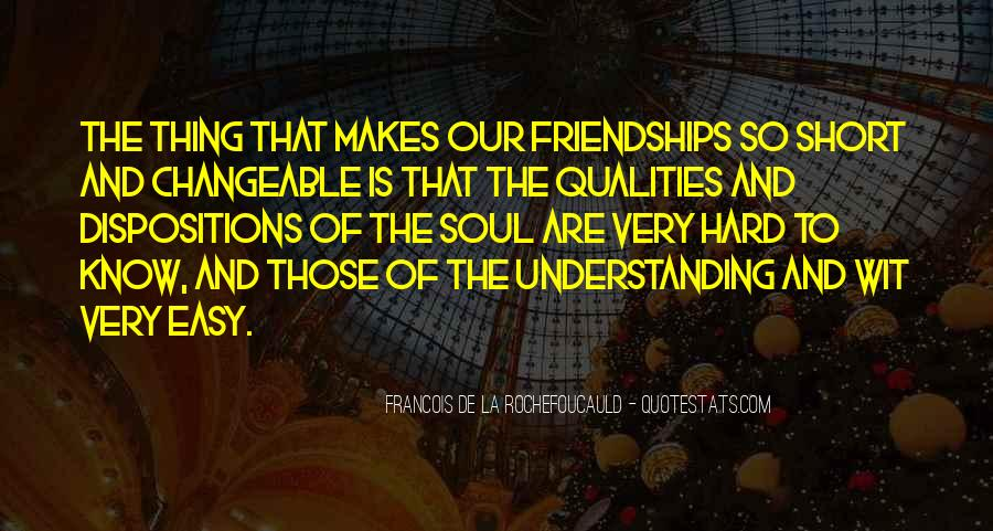 Friendship Is Not Easy Quotes #601142