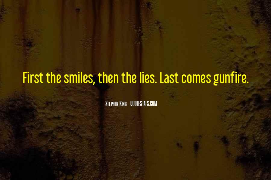 Quotes About Gunfire #1168037