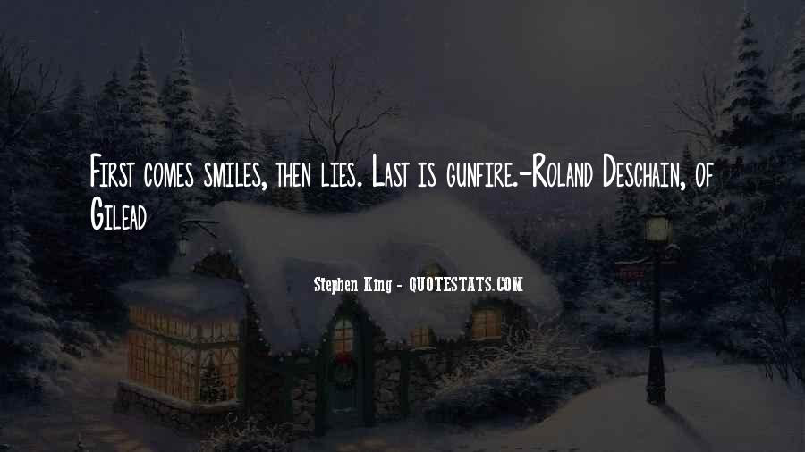 Quotes About Gunfire #1443194