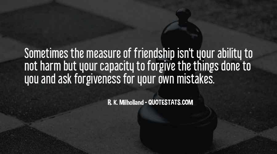 Friendship Measure Quotes #38114