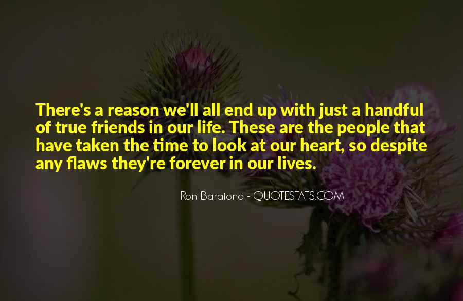 Friendship With Time Quotes #897