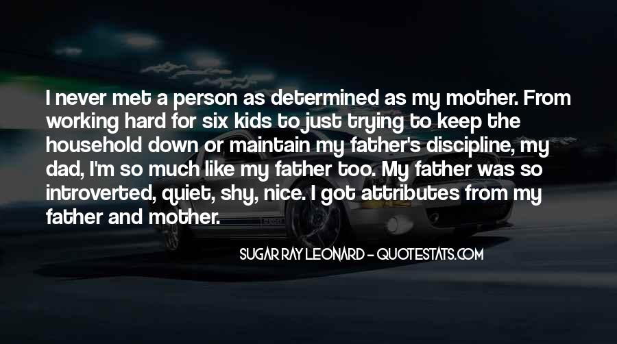 From Mother To Father Quotes #1129627