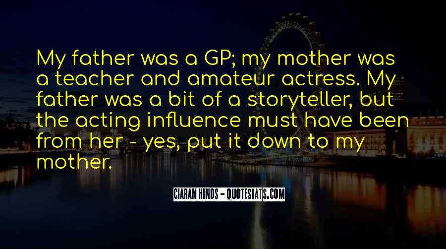 From Mother To Father Quotes #1129946