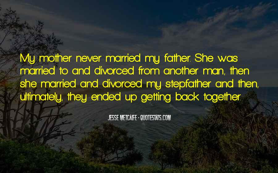 From Mother To Father Quotes #1202778