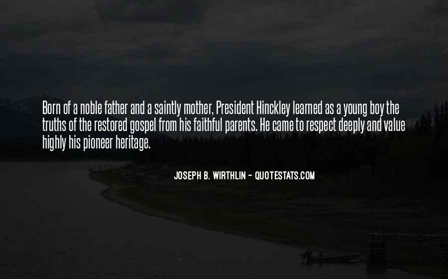 From Mother To Father Quotes #257505
