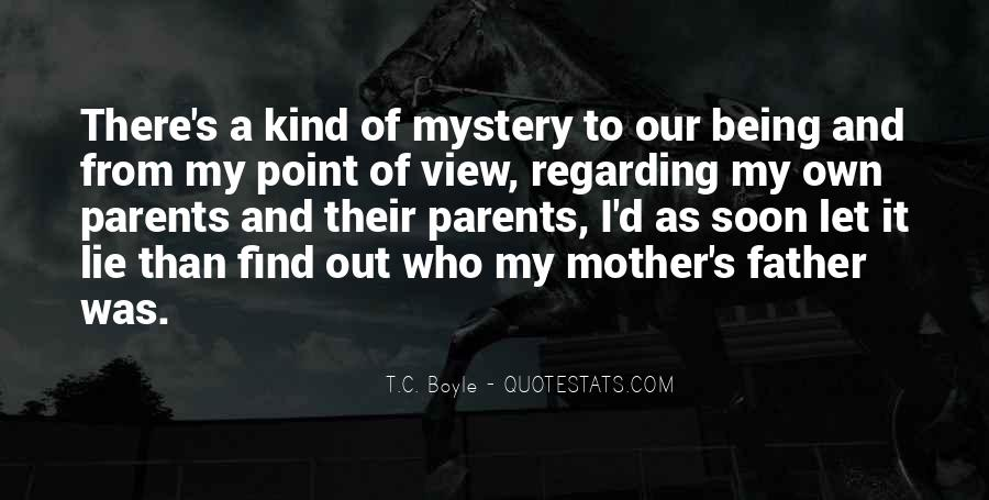 From Mother To Father Quotes #388289