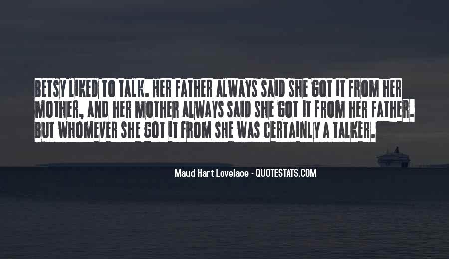 From Mother To Father Quotes #416681